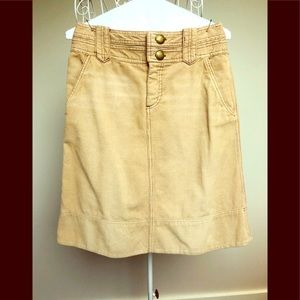 MARC JACOBS Corduroy Flounce Skirt